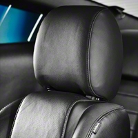 TMI Tilting Headrest Black Vinyl - Pair (05-09 All) - TMI 43-81125