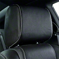 Tilting Headrest Black Vinyl - Pair (10-14 All) - TMI 43-78810