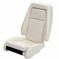 TMI Sport Seat Seat Foam w/ Knee Bolster - 26 in. Back (84-89) - TMI 43-73702