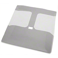 TMI Smoke Gray Cloth Headliner - T-Top (79-88) - TMI 81586