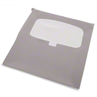 TMI Titanium Gray Cloth Headliner - Sunroof (90-92 All) - TMI 81592