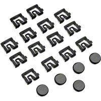 Rear Window Molding Clip Kit - Coupe (79-93 All) - AM Restoration 1005