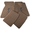 Parchment Floor Mats - Cobra Logo (99-04 All) - AM Floor Mats 12133