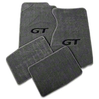 Gray Floor Mats - GT Logo (99-04 All) - AM Floor Mats 12172