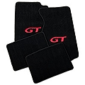 Black Floor Mats - Red GT Logo (99-04 All) - AM Floor Mats 12161