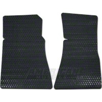 Rubbertite Black Floor Mats - 2pc (79-93 All)