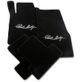 Black Floor Mats - Carroll Shelby Signature (11-12 All) - AM Floor Mats 111911