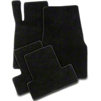 Black Floor Mats (05-10 All) - AM Floor Mats 012001