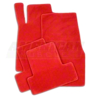 Red Floor Mats (05-10 All) - AM Floor Mats 012007