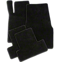Black Floor Mats (11-12 All) - AM Floor Mats 011901