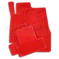 Red Floor Mats (11-12 All) - AM Floor Mats 11907