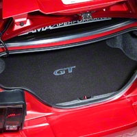 Trunk Mat - Embroidered GT (99-04 All)