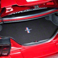 Trunk Mat - Embroidered Pony (99-04 All)