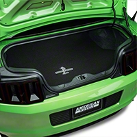 Trunk Mat - Embroidered Shelby GT500 (10-14 All)