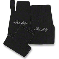 Black Floor Mats - Carroll Shelby Signature (13-14 All) - AM Floor Mats 111811