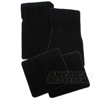 Black Floor Mats (79-93 All) - AM Floor Mats 012301