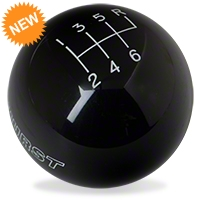 Hurst Classic Black 6-Speed Shift Knob (83-04 All) - Hurst 1630160