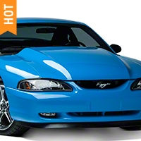 AmericanMuscle 3in Cowl Hood - Unpainted (94-98 All) - AmericanMuscle Hoods 94003