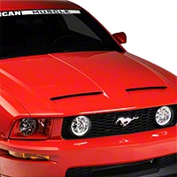 Concept Style Hood - Unpainted (05-09 GT, V6) - American Muscle Hoods 94010