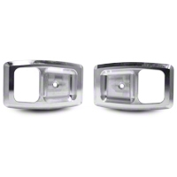 Polished Billet Interior Door Handle Bezels (79-93 All) - AM Interior 2155654