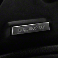 Polished Billet Defroster Button (94-00 All)