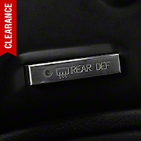 Modern Billet Polished Billet Defroster Button (94-00 All)