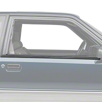 Exterior Door to Window Molding Trim- Coupe, Hatchback (87-93 All) - AM Restoration 2156634