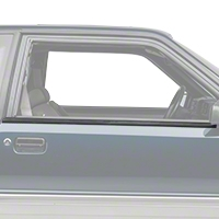 Exterior Door Window Belt Molding Trim- Coupe, Hatchback (87-93 All) - AM Restoration 2156639