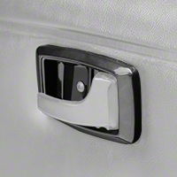 Black Interior Door Handle Bezels (79-93 All) - AM Restoration 2155651