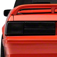 Smoked Tail Light Lenses - Pair (87-93 LX) - AM Lights 2156931S