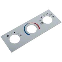 White A/C Gauge Face (01-04 All)