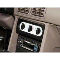 Mustang White A/C Gauge Face (90-93)