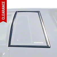 Quarter Window Molding Cover Kit - Coupe (87-93 All) - AM Restoration 2155645