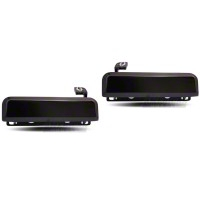 Gloss Black Exterior Door Handles - Pair (79-93 All) - AM Restoration 94350