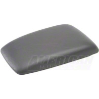 Center Console Arm Rest Pad - Titanium Gray (87-93 All) - AM Restoration F0ZZ-6106024-TG