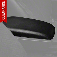 Center Console Arm Rest Pad - Black (87-93 All) - AM Restoration E7ZZ-6106024-BL