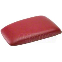 Center Console Arm Rest Pad - Red (87-93 All) - AM Restoration E7ZZ-6106024-SR
