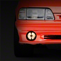 Smoked Fog Light - LH/RH (87-93 GT) - AM Lights 2156363S