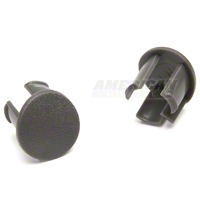 Arm Rest Pad Plugs - Gray (87-93 All) - AM Restoration 2156662G