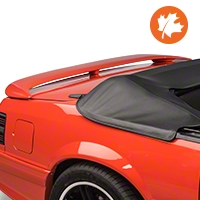 Sport Wing Spoiler - Coupe/Convertible - Unpainted (79-93 All) - AM Exterior NM0042