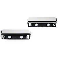 Chrome Exterior Door Handles - Pair (79-93 All) - AM Restoration NM0072||NM0073