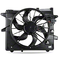 Radiator Fan and Shroud Assembly (10-12 GT, V6) - AM Restoration NM0217