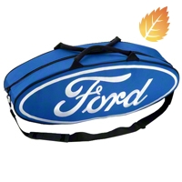 Blue Ford Logo Canvas Tote Bag - AM Accessories F2000V