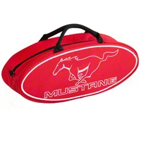 Red Running Pony Canvas Tote Bag - AM Accessories F2000MR