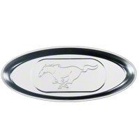Stainless Steel Magnetic Parts Tray - Pony Logo - AM Accessories F700 MSS