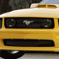 Mustang Smoked Fog Light Covers (94-98)