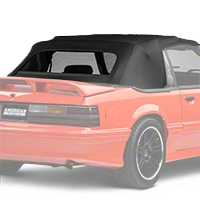 Replacement Convertible Top - Black (91-93 All) - AM Restoration C-247-1042ST