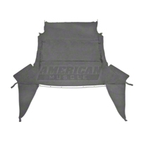 Headliner - Convertible - Charcoal (99-04 All) - AM Restoration ACH-15AF-Charcoal