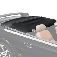 Convertible Top Boot - Black (94-98 All) - AM Restoration B249-SIE958