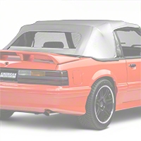 Replacement Convertible Top - White (83-90 All) - AM Restoration C246-4902ST
